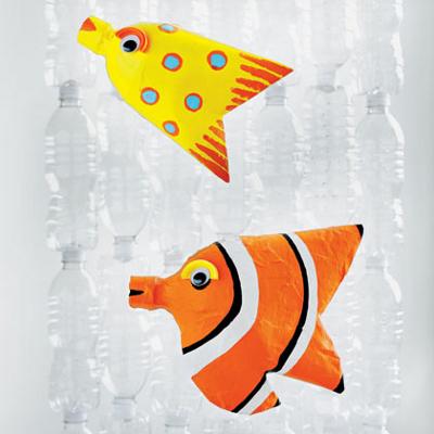 Рыбки своими руками из пластиковых