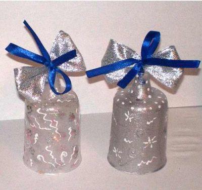 колокольчик из пластиковой бутылки