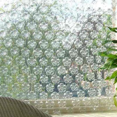 штора из пластиковых бутылок 3