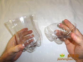 заготовкии из пластиковых бутылок для пингвина
