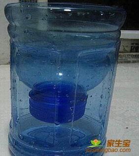 Напольная подставка для цветов из пластиковых бутылок своими руками 55