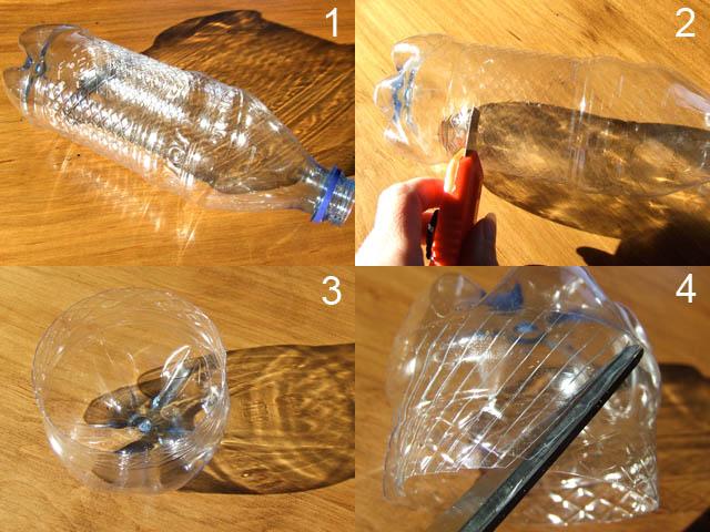 Поделки из прозрачных бутылок 53